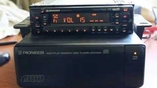 Pioneer KEH-M8500RDS cassette player with CDX-M40 CD changer