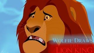 Mufasa Speedpaint   Wolfie Draws~ The Lion King