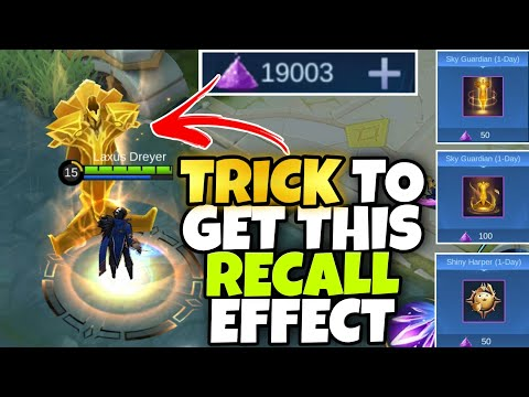 How To Get This Time Limited Recall Effect