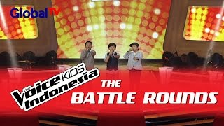 """Download Video Alde vs Reiner vs Shem """"Eeeaa"""" I The Battle Rounds I The Voice Kids Indonesia 2016 MP3 3GP MP4"""