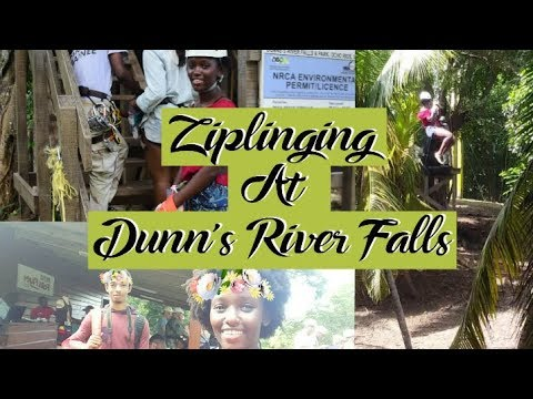 876 Vlogs | Birthday Trip: Ziplining at Dunn's River Falls, Ocho Rios JAMAICA!