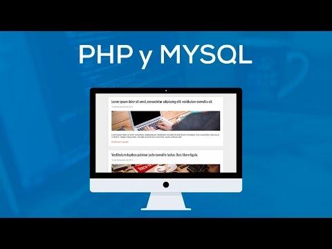 PHP 7 y MYSQL: El Curso Completo, Practico y Desde Cero