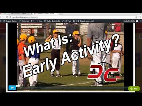 Dugout Captain - Tutorial and Practice Planning Clinic