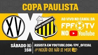 XV de Piracicaba 1 x 2 Novorizontino - Copa Paulista 2018