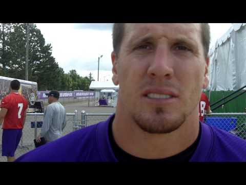 Vikings Training Camp 2012: LB Chad Greenway