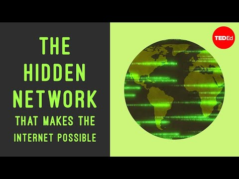 Скрытая сеть которая делает интернет возможным TED Ed