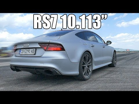"Audi RS7 4.0TFSI 10.113"" @ 222.84 km/h | Autokinisimag"