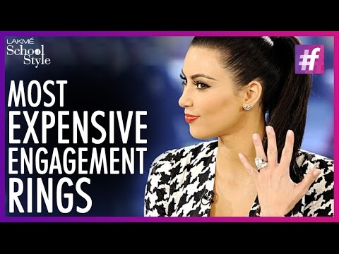 What 39 S Trending 5 Most Expensive Celebrity Engagement Rings Fame Sch