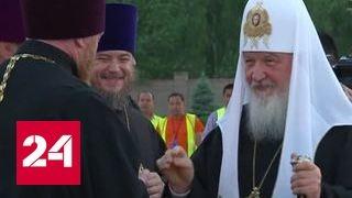 Патриарх Кирилл прибыл в Киргизию с просветительским визитом