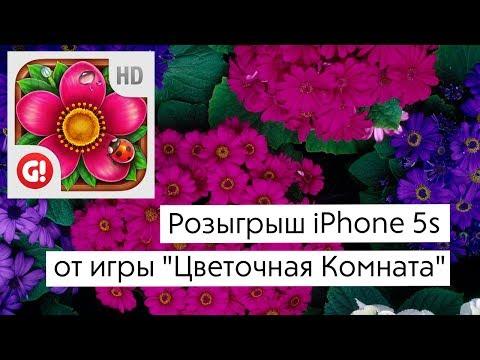 Розыгрыш iPhone 5s от AppleInsider.ru и игры «Цветочная Комната»!
