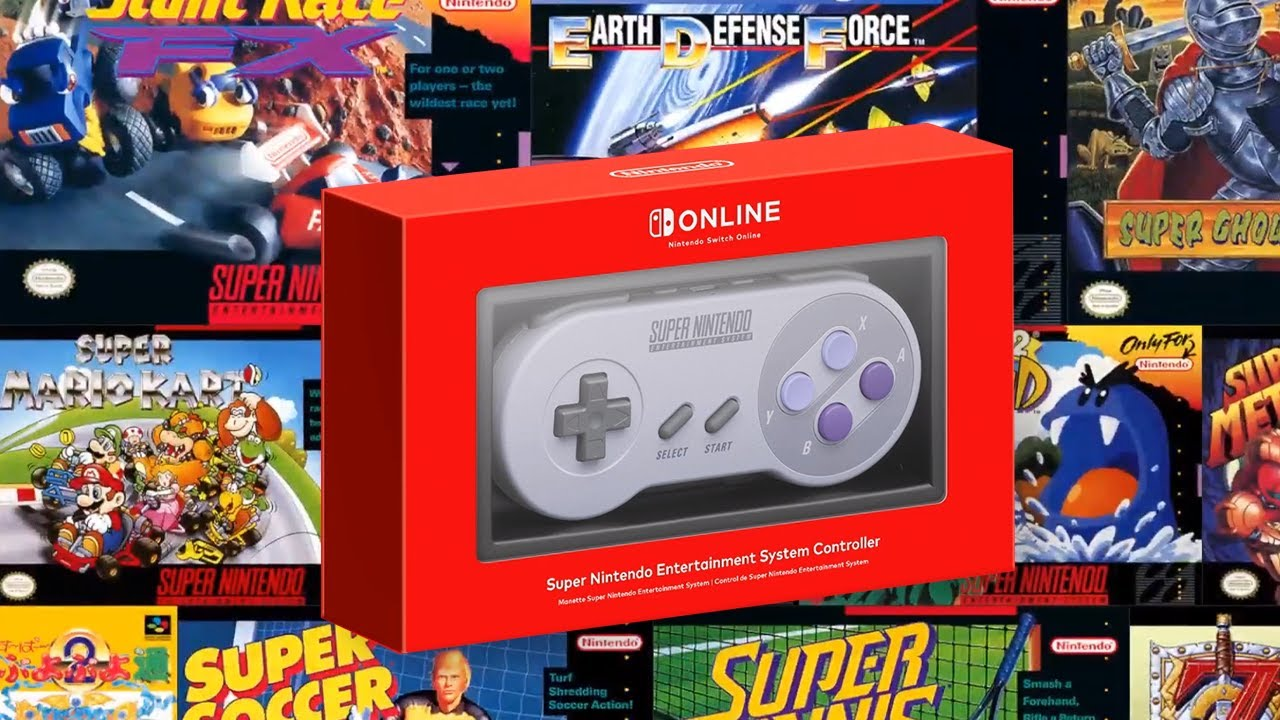 I want it that way: SNES games come to Nintendo Switch today