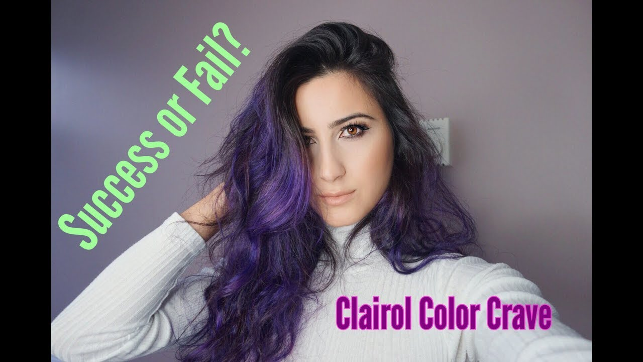 Clairol Color Crave Review Viola Fashion Youtube