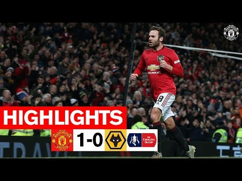 Mata takes the Reds through! | Manchester United 1-0 Wolverhampton Wanderers | FA Cup