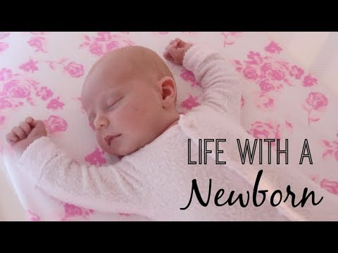 DAY IN THE LIFE WITH A NEWBORN BABY!!  *AUSTRALIAN FAMILY VLOGGERS*