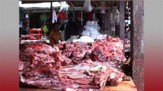 The market in Tentena - Sulawesi