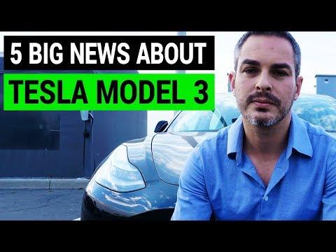 5 Big Headlines about Tesla Model 3 | Week in Review