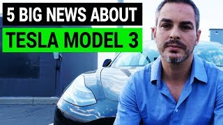 5 Big Headlines about Tesla Model 3 | Week in Review