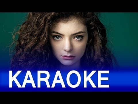 Lorde –  Royals Lyrics  Instrumental Karaoke