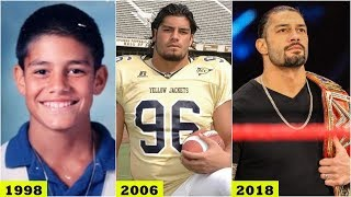 WWE ROMAN REIGNS Transformation 2018 - ROMAN REIGNS From 1 to 33 Years Old [HD]