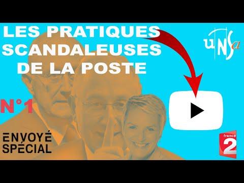 """Envoyé Spécial France 2 """"La Poste sous tension"""""""