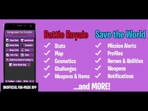 Companion For Fortnite Stats Map Shop Weapons Apps On