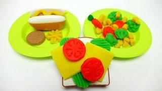 Play-Doh Sandwich & Kitchen Toy Sets