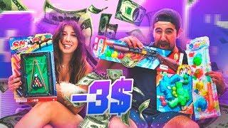 PROBANDO JUGUETES POR MENOS DE 3€ !!! - ElChurches y Claudix
