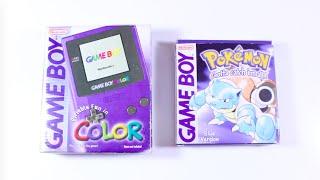 Unboxing Original 1998 Gamęboy Color & Pokemon Blue