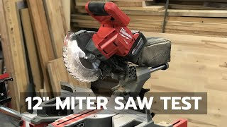 "12"" Miter Saw Test: An Inside Look Behind The Scenes"