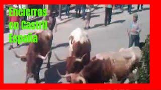 #Castril,  Encierros vaquillas sábado 13-10-12