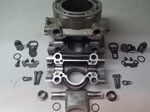 KTM Husaberg Powervalve disassembly and assembly for Service Cleaning