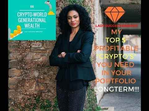 Crypto World CEO TOP 5 Profitable Cryptocurrencies You should Hold Longterm !