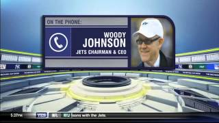 Woody Johnson on the Jets' firing of Rex Ryan and John Idzik - The Michael Kay Show