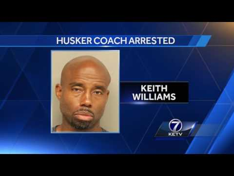 Nebraska WR coach Keith Williams arrested for DUI
