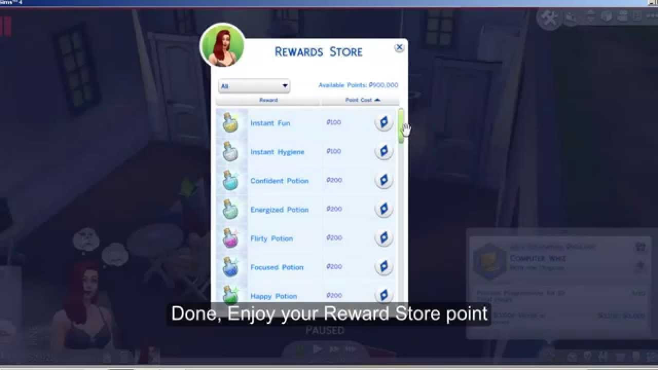 Point 4 The Store Reward - Sims Easy mahaveersecuritysystem com