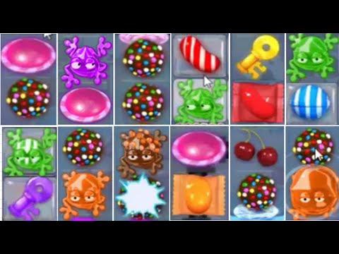 Candy Crush Saga | Candy Frog And Candy UFO Collection Combos!