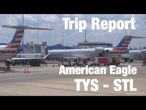 TRIP REPORT - American Eagle (ERJ-145, CRJ-900), Knoxville To St Louis