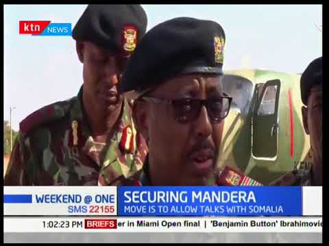 Kenya has suspended construction of the border wall with Somalia to pave way for bilateral talks