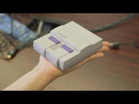 The A.V. Club unboxes the new SNES Classic