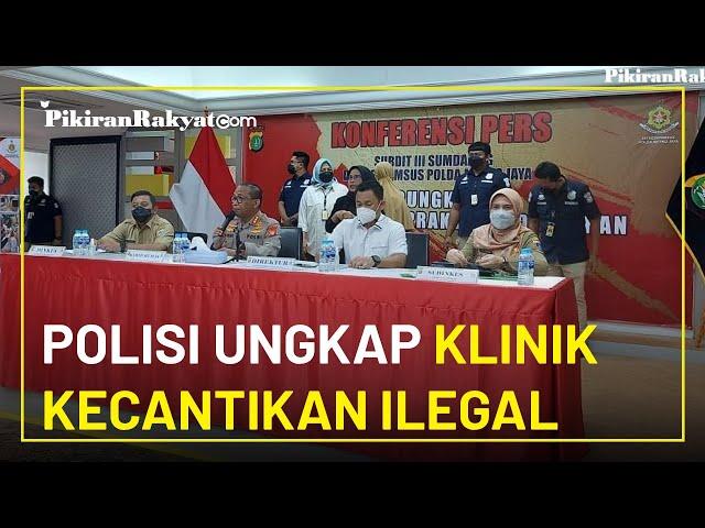Polisi Ungkap Klinik Kecantikan Ilegal di Jakarta Timur, Korban Capai 100 Orang Tiap Bulan