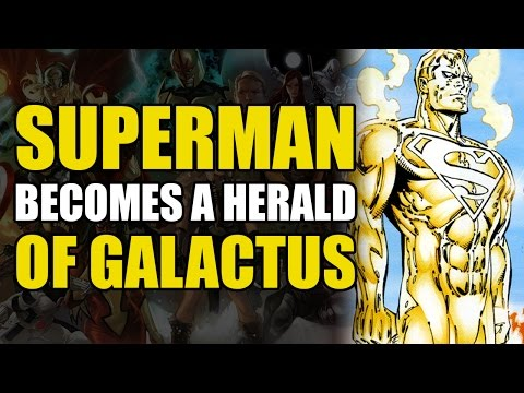 Superman Becomes a Herald of Galactus (Superman/Fantastic Four: Infinite Destruction)