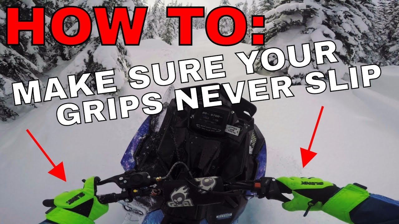 how to replace your grips and hand warmers [ 1280 x 720 Pixel ]