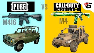 Call of Duty Mobile vs PUBG Mobile Game : What's The Difference | Review