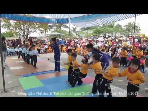 Trò chơi dân gian kéo co Trường mầm non Thuỵ Quỳnh 2013