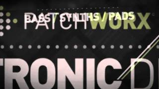 Patchworx - Electronic Drums (Reason Kong Presets)