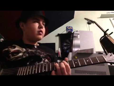 How to play God of Thunder by kiss on guitar by Damian