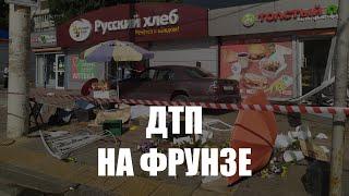 В Калининграде «Мерседес» вылетел на тротуар, погиб пешеход
