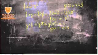 Composición de funciones 06 Matemáticas 1º Bachillerato Academia Usero en Estepona