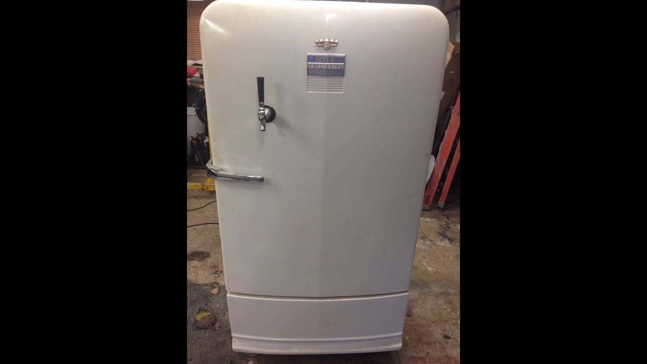 1949 Gm Frigidaire Refrigerator Kegerator Youtube