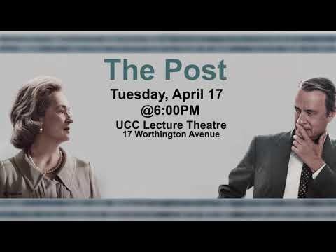 "Global Reporters for the Caribbean Presents the Movie ""THE POST."""